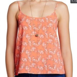 Wild Pearl Floral Tank Top